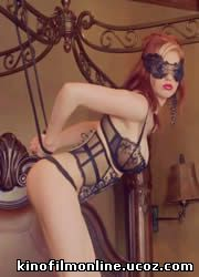 Chandler South Masked Minx in Lacy Black Lingerie